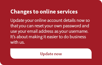 Changes to online services