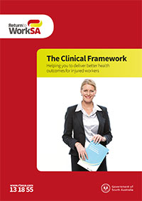 The clinical framework brochure cover